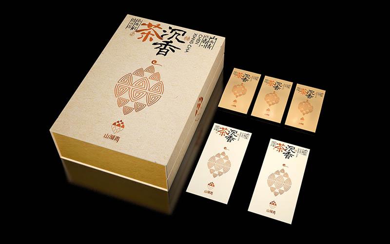 山渐青沉香茶礼盒包装设计09