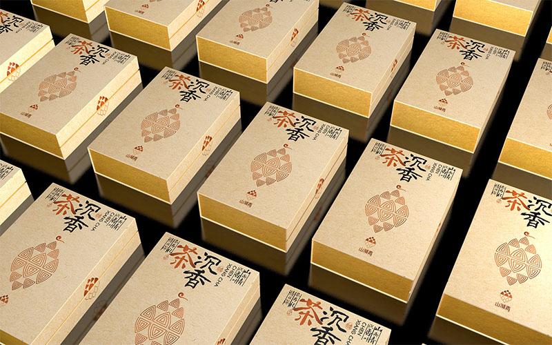 山渐青沉香茶礼盒包装设计08