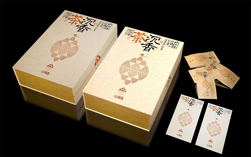 山渐青沉香茶礼盒包装设计10