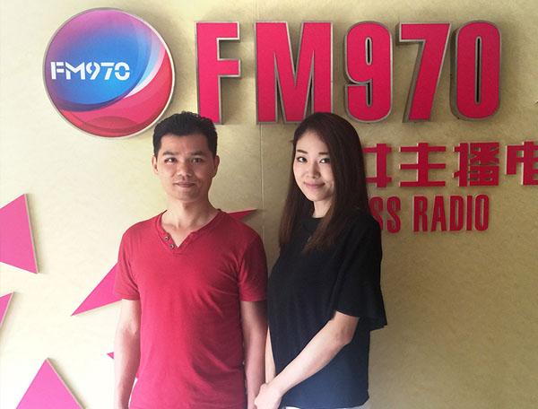 广西FM970女主播电台独家访谈万博manbetx官网手机登录万博manbetx手机登录网页梁宏宁