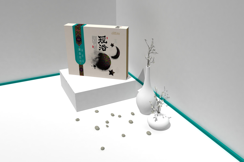 金秀金圣堂瑶浴产品包装设计家庭系列02