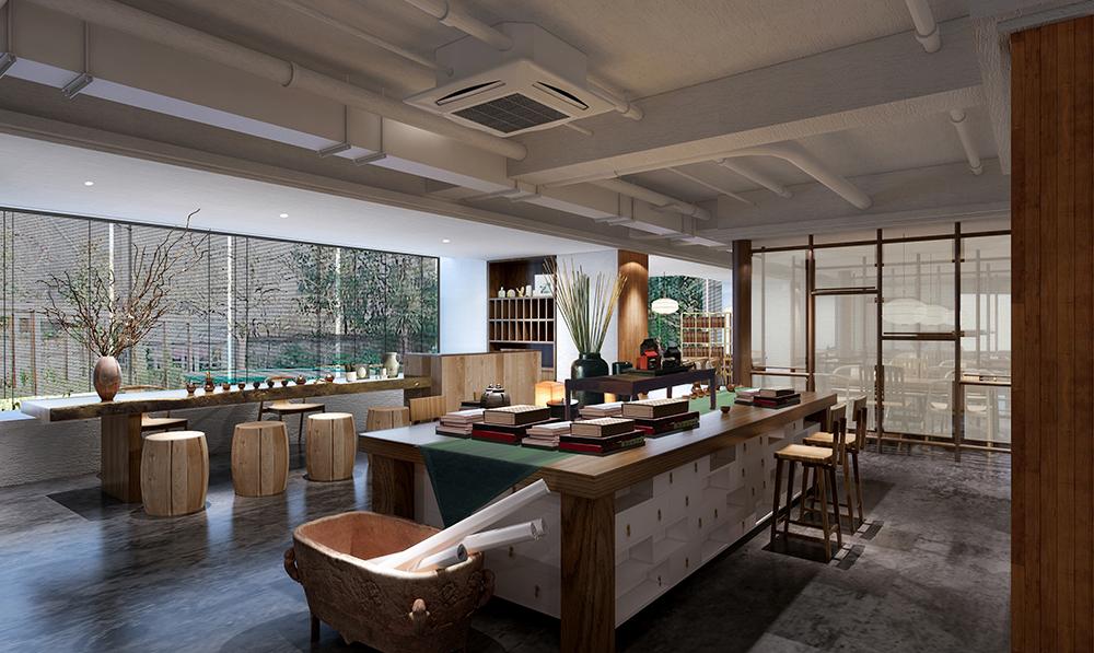西安茶馆体验空间设计09