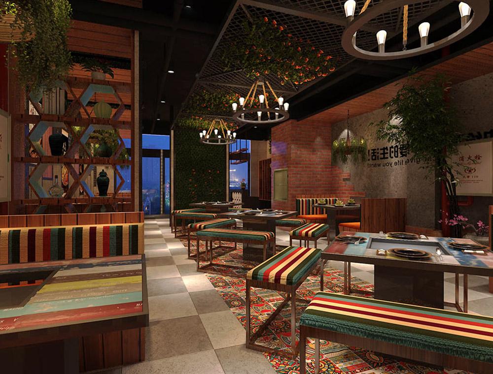 牛哥牛骨火锅餐厅空间设计