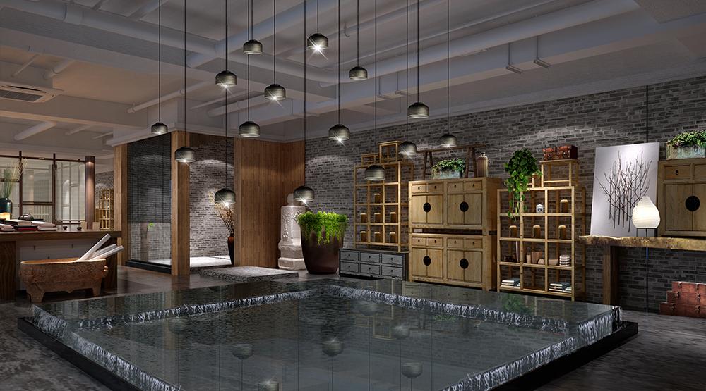 西安茶馆体验空间设计10
