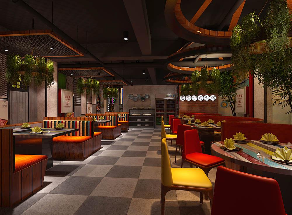 牛哥牛骨餐厅空间设计07