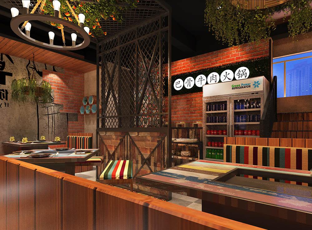 牛哥牛骨餐厅空间设计04