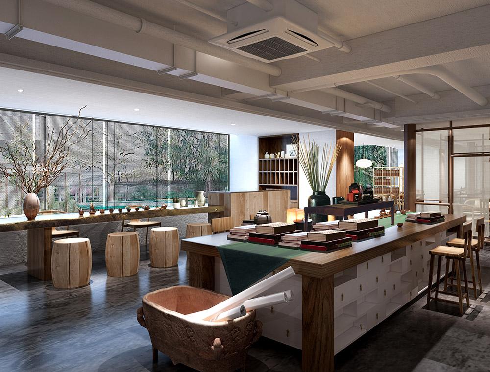 西安特色茶馆线下体验中心设计