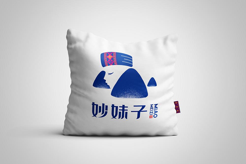 妙妹子标志设计(07)
