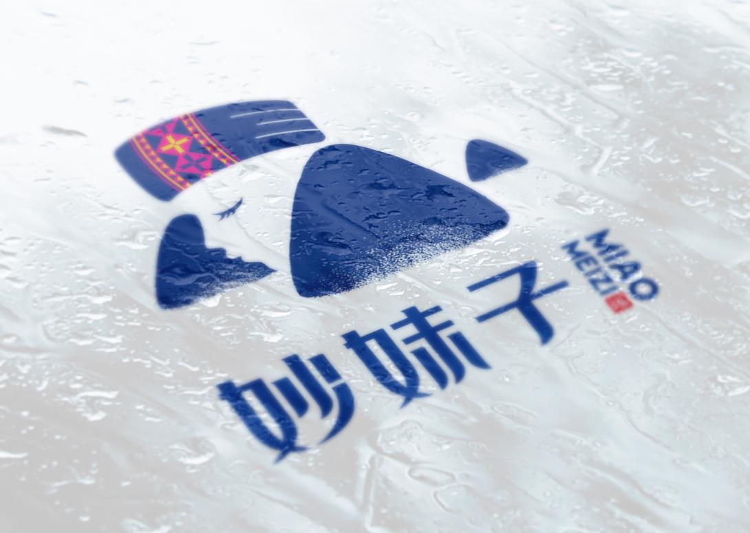 妙妹子标志设计(06)